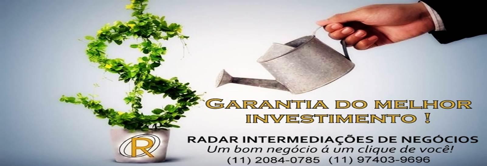 GARANTIA DO MELHOR INVESTIMENTO!